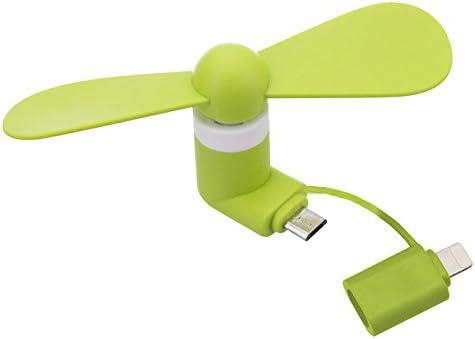 2 en 1 mini USB portátil de refrigeración ventilador de teléfono ...