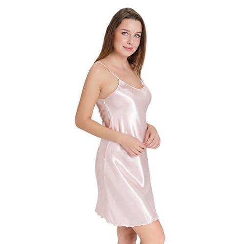 Aibrou Vestido Ropa de Dormir para Mujer 476c6ccef9af8