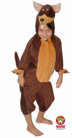 Safari Plush Costume Kelpie Dog- Medium (Dog Costumes For Kids)