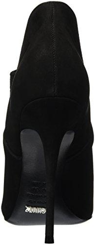Schutz Damen Stilleto Kurzschaft Stiefel Schwarz (Black)