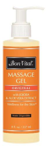Bon Vital Original Massage Gel, 8 oz. Bottle with Pump, (Old Version) ()