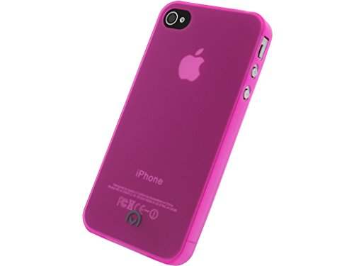 Mobilize Gelly Case Ultra Thin Apple iPhone 4/4S Neon Fuchsia