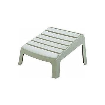 desert clay resin adirondack ottoman - Resin Adirondack Chairs