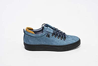 Konfidenz nubuck leather plimsoll shoes for men