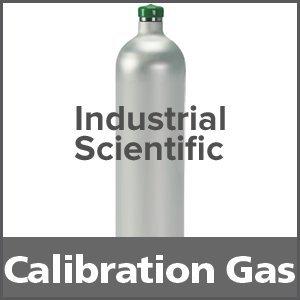 Industrial Scientific 1810-9155 Equivalent Calibration Gas: 25% LEL Pentane, 18% Oxygen, 100 ppm Carbon Monoxide, 25 ppm Hydrogen Sulfide, Balance...