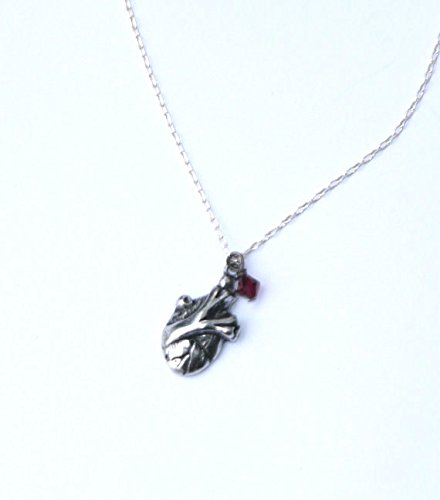 Anatomology Tiny Anatomical Heart Necklace product image