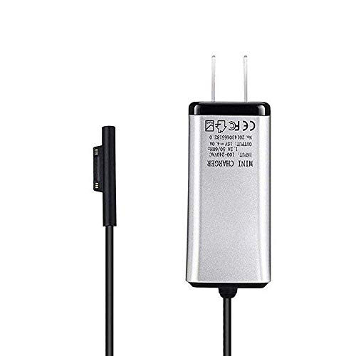 TYZEST Microsoft Surface Book Charger 65W 15V 4A Power Suitable for All Microsoft Surface Book Surface Pro 3 Pro 4 Pro 5 i3 i5 i7 Laptop and Tablet Model 1706 1800 1735 1736 (UL Listed)