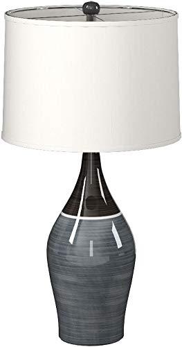 Ashley Furniture Signature Design -  Niobe Ceramic Table Lamp - Set of 2 - Multicolored/Gray by Signature Design by Ashley (Image #7)
