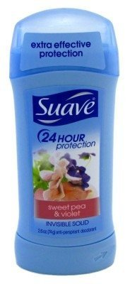 (Suave Deodorant 2.6oz 24Hr Sweet Pea&Violet Invis. Solid (2 Pack) by Suave)