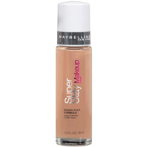 Maybelline New York Super Stay 24Hr Makeup, Caramel, 1 Fluid Ounce (Cosmetics Vip Liquid)