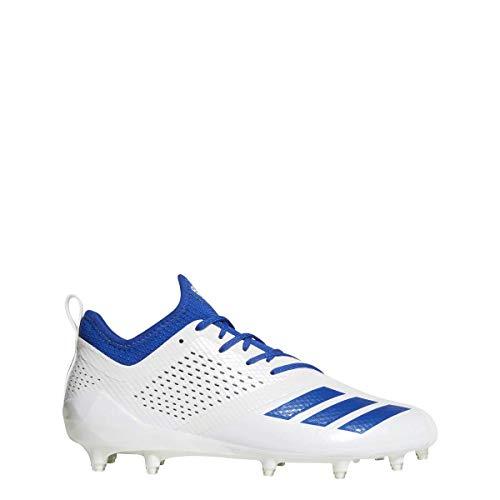 adidas Adizero 5Star 7.0 Cleat Men's Football 12 White-Collegiate Royal