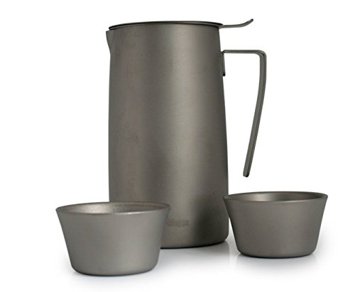 Fire Maple Outdoor Titanium Tea Maker Tea Filter Tea Set Cup Kettle Tea ware FMP-T320 by Fire-Maple
