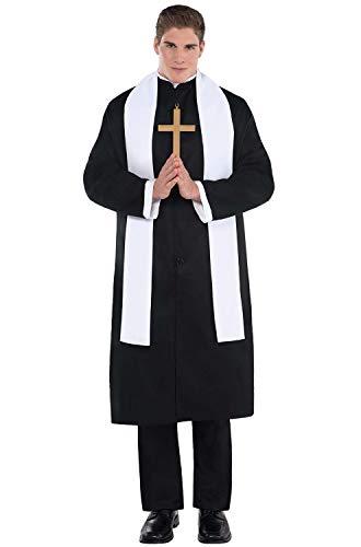 Amscan Adult Priest Costume Plus -