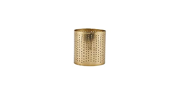 Amazon.com: House Doctor Tealight Wilma, Brass Finish, 8 x 8 ...