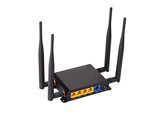 Wi-Fi Router WE826 Unlocked 4G LTE GSM - NO CDMA - 150 Mbps (4G LTE in USA Latin & Caribbean Bands) + 4 LAN + USB Multibam US Version