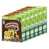 Koko Krunch Whole Grain Breakfast Cereals Wheat Crackers Chocolate 25g.(pack of 6)
