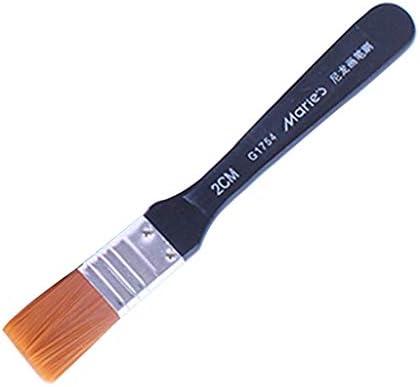 ペイントブラシ 水彩筆 画筆 丸筆 絵画 油絵画 アクリル筆 油絵筆 教育用 全7サイズ - 160×20mm