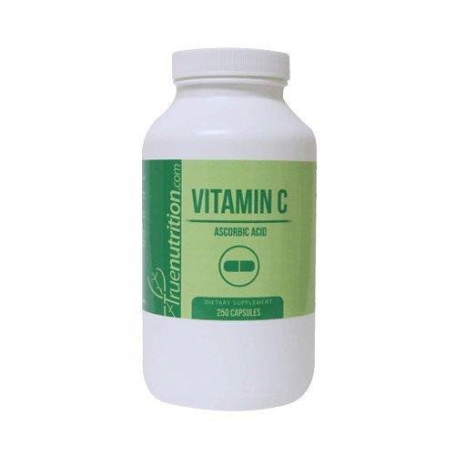 (True Nutrition Vitamin C 1000mg Capsules (250 Capsules))