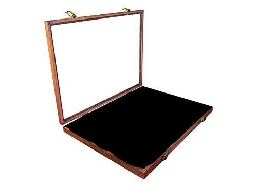 Hobbymaster Oak Display Case 18X12x2 (Oak Black)