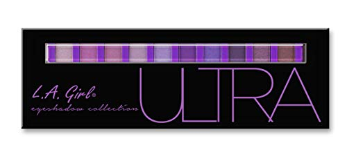 Black Eyes Halloween Makeup Tutorial (L.A. Girl Beauty Brick Eyeshadow, Ultra, 0.42)