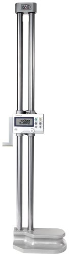 """Mitutoyo 192-632-10, Digimatic Height Gage, 24""""/600mm X .0005""""/.0002""""0.01mm/0.005mm, With Output"""