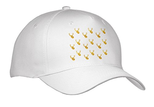 PS Animals - Image of Gold Glitz Deer - Caps - Adult Baseball Cap (Cap_274218_1)