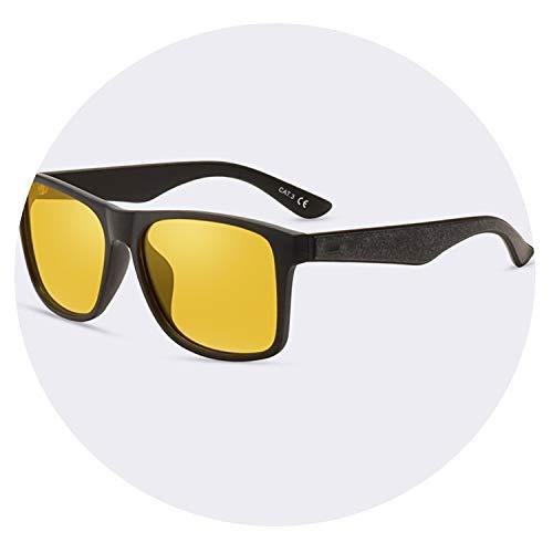 Night Vision Glasses Polarized Sunglasses Men Yellow Anti Glare Driving Sun Glasses Goggles Uv400,C03