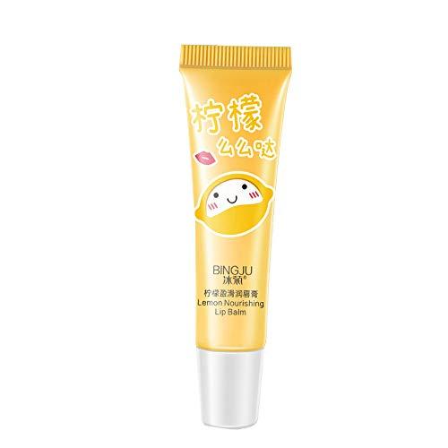 (AmyDong Liquid Moisturizing Lip Gloss Lemon Lip Balm Lipstick 9G)