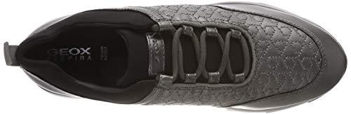 Basses gun C1g9f Gris D Grey Geox dk Gendry Femme C Sneakers WIaZOqg