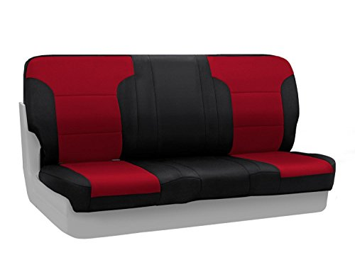 CoverKing Custom Fit Rear Solid Bench Seat Cover for Sele...