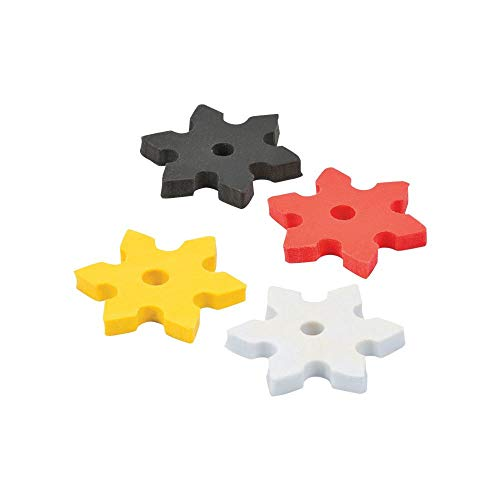Fun Express Ninja Star Erasers (24 Piece)]()