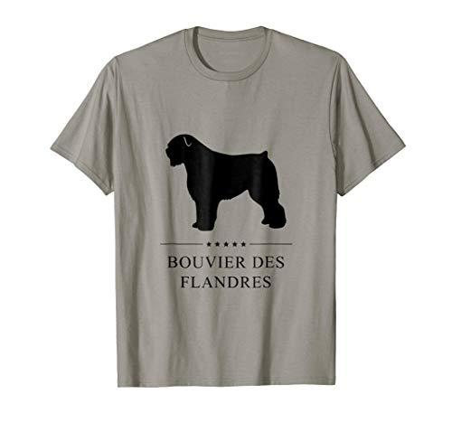 Bouvier des Flandres Shirt: Black Silhouette