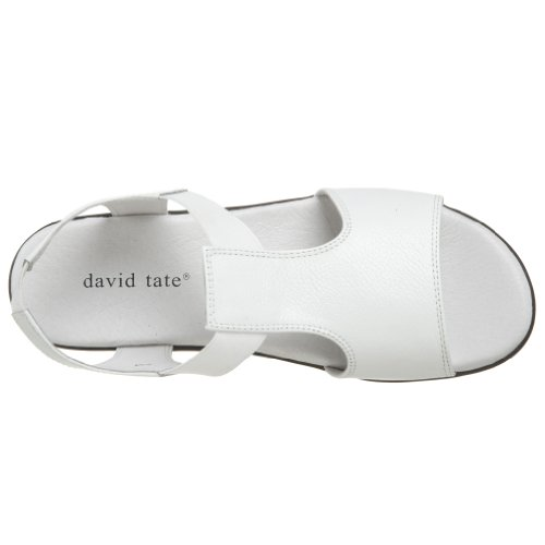 David Tate Womens Firenze Open Footwear White Ciottolo