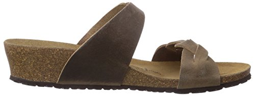 EU in Papillio Brown ''Alicia'' Leather from Sandals 0 Tabacco Wedge N 41 gXpqTv
