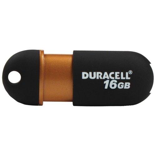 Duracell Du-zp-16g-ca-n3-c Capless Usb 2.0 Pen Drive (16 ()