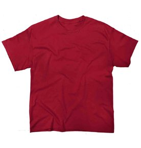 ic Fit Youth T-shirt Heavy Cotton - First Quality - Cardinal Red - X-Small ()