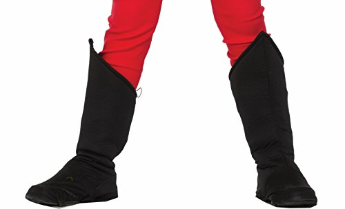 Kids Pirate Boot Covers (Forum Novelties Child Hero Boot Covers,)