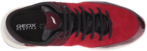 Geox D Sfinge a, Zapatillas para Mujer Rot (DK RED/DK BURGUNDYC7M7J)