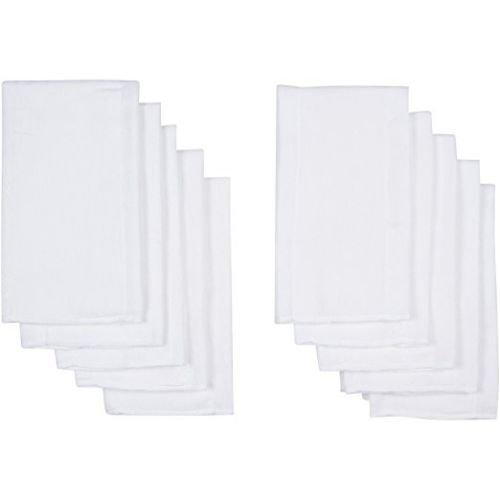 Pañales De Tela Pre Doblados Con 3 Pliegos Color Blanco 100/% Algodón Gerber