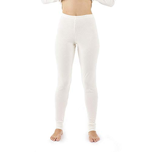 Cottonique Hypoallergenic Womens Thermal Pajama Made from 100% Organic Cotton