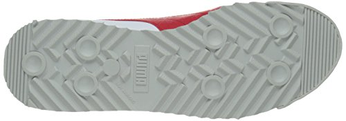PUMA Men's Roma Basic Fashion Sneaker, White/High Risk Red/White - 9 D(M) US by PUMA (Image #3)