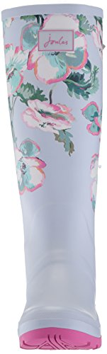 Botas Agua Print de Gris Grey Mujer Poppy para Joules Welly SAEqnBvwnI