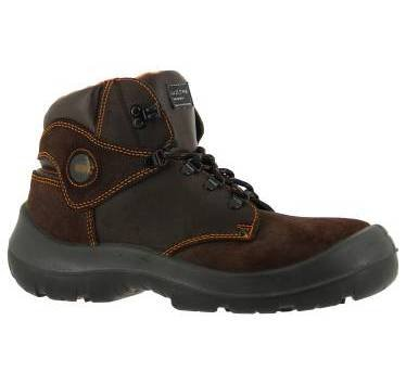 Honeywell 6246150-43/7 Mid Safety Shoe - Brown