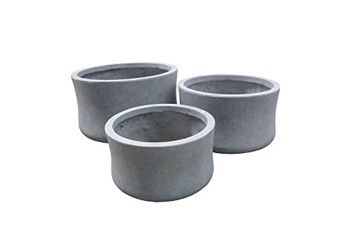 Hi-Line Gift Ltd Trio Pot Planters, Grey by Hi-Line Gift Ltd.