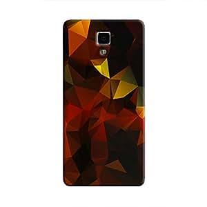 Cover It Up - Dark Orange Gold Pixel Xiaomi Mi4 Hard Case