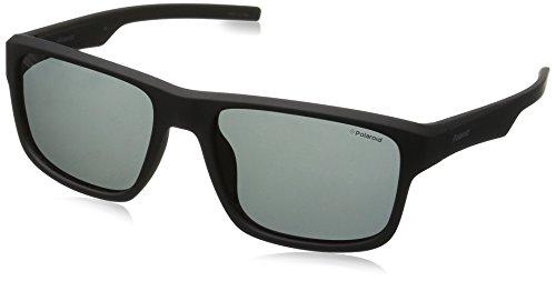 Pz Negro Polaroid 3018 Black PLD Grey S Sonnenbrille Matt 8wpgz