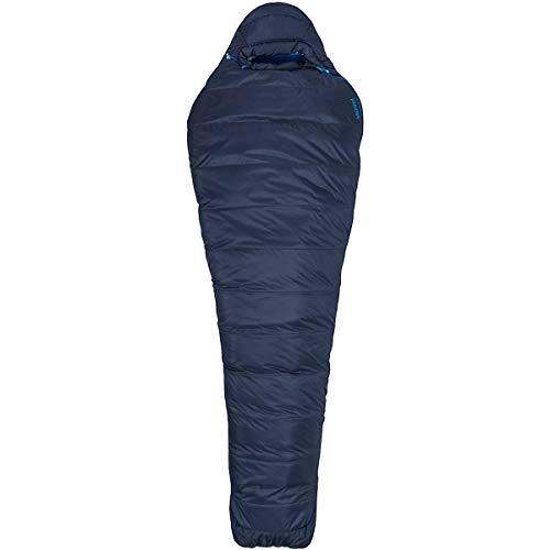 (Marmot Ultra Elite 20 Sleeping Bag, Dark Steel/Lakeside, Reg 6ft 0in, 39360-1662-Reg: 6'0