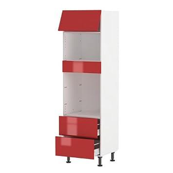 Atelier Du Menuisier   Meuble Colonne Four Micro Ondes 200*60cm 1 Porte 60*