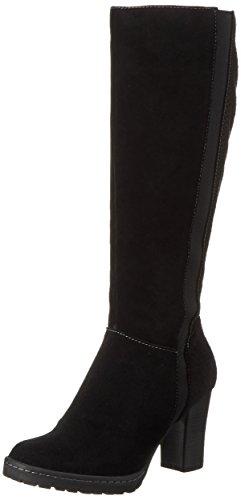 s.Oliver Women's 25512 Ankle Riding Boots, Beige Black (Black 001)