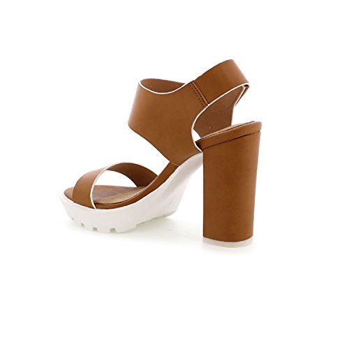 Maria Femme 66113 Chaussures Buffalo Mare Habillées Cuero w8HwC7cqS